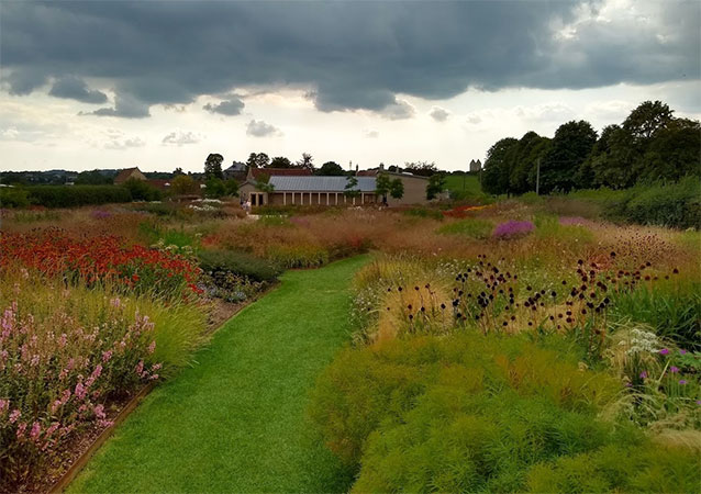 Places to visit when staying in Frome - The garden at Hauser & Wirth SOmerset is called Oudolf Field - named after the designer Piet Oudolf
