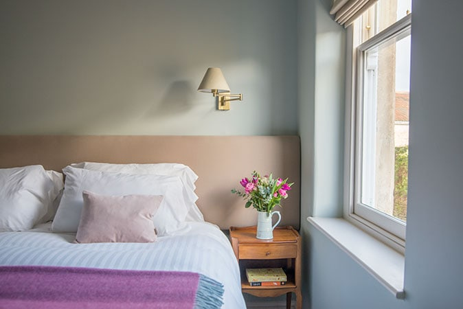 A bedroom at Bistro Lotte Guest House B&B, best place to stay when visiting Hauser & Wirth