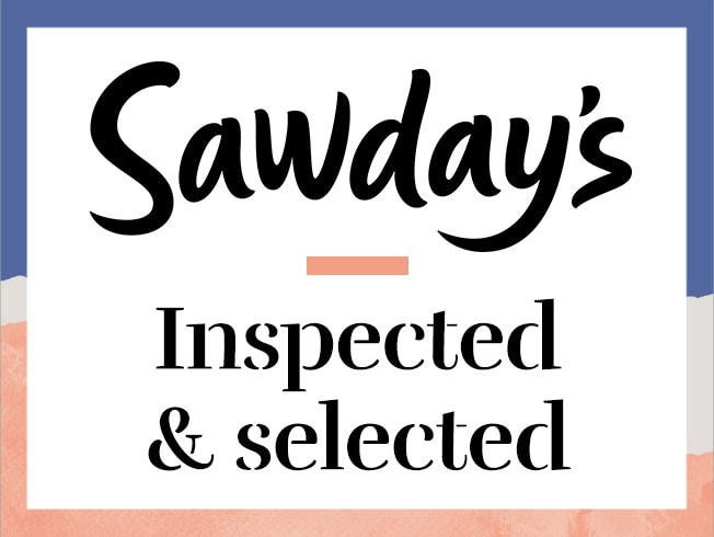 Sawdays badge and link to website