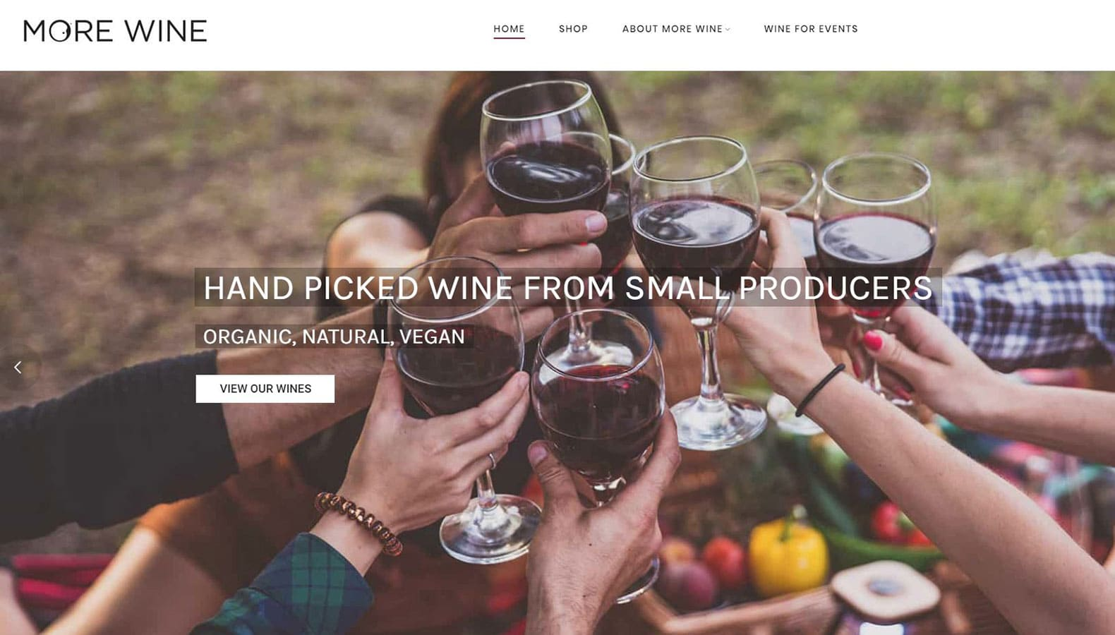 More Wine is a eco friendly wine supplier near Frome in Somerset